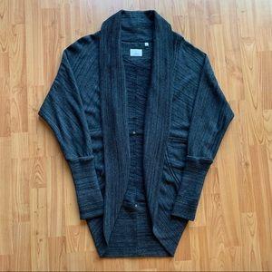Aritzia Diderot Open Front Cocoon Sweater